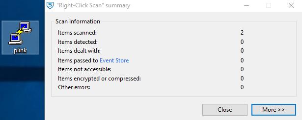 Sophos Direct Scan