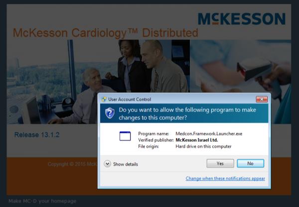 McKesson Framework Launcher